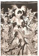 Cabaret Moulin Rouge - Carte Photo Originale - Sans éditeur - Dos Blanc - Animation - Nudité - Cabaret