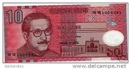 10 Taka BANGLADESH (2000) Polymer Note - Bangladesh