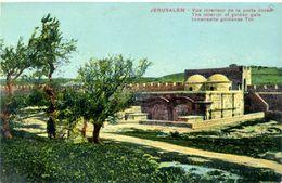 JERUSALEM - Vue Intérieure De La Porte Dorée - Israel