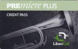 Lebanon, LB-LBC-REF-0001?, Premiere Plus - Saxophone 2 Scans.   Exp. : 25/12/1999  Green Line - Lebanon