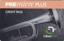 Lebanon, LB-LBC-REF-0001?, Premiere Plus - Saxophone 2 Scans.   Exp. : 26/01/2001   Orange Line - Lebanon