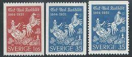 Sweden  1964  Horse & Carriage Set Of 3  MNH**   2016 Scott Value  $4.85 - Sweden