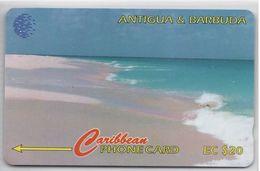 ANTIGUA & BARBUDA - PINK SAND BEACH - 16CATB - Antigua And Barbuda