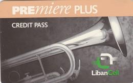 Lebanon, LB-LBC-REF-0001?, Premiere Plus - Saxophone 2 Scans.   Exp. : 31/11/1999   Orange Line - Libanon