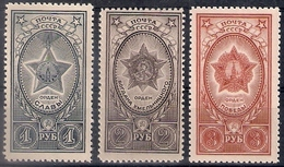 Russia 1945, Michel Nr 948-50, MNH OG - 1923-1991 USSR