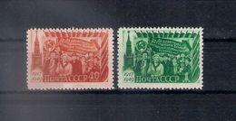 Russia 1949, Michel Nr 1397-98, MNH OG - 1923-1991 USSR