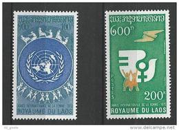 """Laos YT 281 Et 282 """" Année De La Femme """" 1975 Neuf** - Laos"""