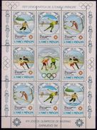 Sao Tomé E Principe 1983 - J.O. D'hiver, Sarajevo 84 - Feuillet Neufs // Mnh - Sao Tome And Principe