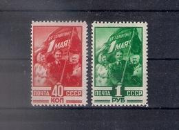 Russia 1949, Michel Nr 1341-42, MNH OG - 1923-1991 USSR