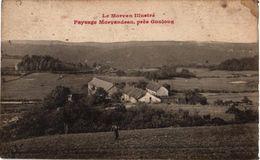 LE MORVAN ILLUSTRE ..PAYSAGE MORVANDEAU .. PRES GOULOUX - Francia