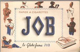 Buvard JOB Papier à Cigarettes JOB Le Globe Fume JOB - Tobacco