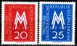 DDR - Michel 596 / 597 - ** Postfrisch (B) - Leipziger Herbstmesse 57 - [6] Oost-Duitsland