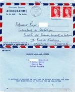 Australia Sydney : Aerogramme Envoyé à Toulouse France Le 25 /08 / 1966 - Aerogrammes