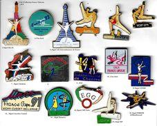 Gymnastique_Divers_Lot De 2 Pin's Sur 13 Présentés _V-3 - Gymnastique