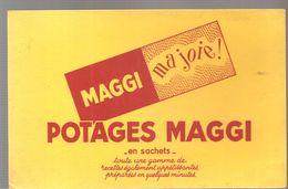 Buvard MAGGI POTAGES MAGGI En Sachets MAGGI Ma Joie! - Sopas & Salsas