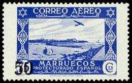 Marruecos 373 * Paisajes. 1953 Charnela - Marruecos Español