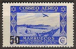 Marruecos 373a * Paisajes. 1953 Charnela - Maroc Espagnol