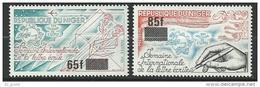 "Niger YT 547 & 548 "" Journée De L'UPU ""1981 Neuf** - Niger (1960-...)"