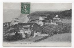 (RECTO / VERSO) LANDEMER EN 1910 - N° 1 - VUE GENERALE - BEAU CACHET - CPA VOYAGEE - France