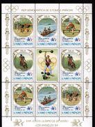Sao Tomé E Principe 1983 - J.O. D'été, Los Angeles 84 - Feuillet Neufs // Mnh - Sao Tome And Principe