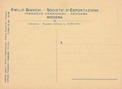 7312.   Emilio Bianchi - Società D' Esportazione - Formaggio Parmigiano Reggiano - Modena - Commercio