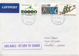 UN VIENNA  - SPECIAL CANCEL  HONG KONG AIRPORT 2001 CN51 - Vienna – International Centre