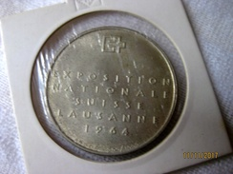 Suisse: Médaille Exposition Nationale 1964 - Professionals / Firms