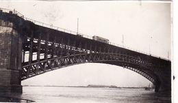 Photo 1920 SAINT-LOUIS - Tram On The Eads Bridge (A182, Ww1, Wk 1) - St Louis – Missouri