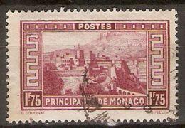 MONACO   -   1933 .   Y&T N° 119 Oblitéré. - Monaco