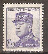 MONACO   -   1937 .   Y&T N° 166 ** - Monaco