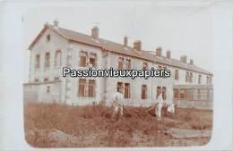 CARTE PHOTO    ALLEMANDE   LABRY    KRIEGSLAZARETT  PAVILLON IV - Sonstige Gemeinden