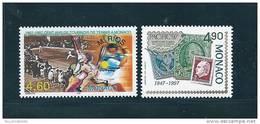 Monaco Timbres De 1997  N°2110 Et 2111  Neuf ** Parfait - Monaco
