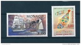 Monaco Timbres De 1996  Neufs**  N°2076 Et 2077 Vendu Prix De La Poste - Monaco