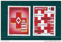 Monaco Timbres De 1993  N°1906/07  Neufs **vendu Prix De La Poste - Monaco