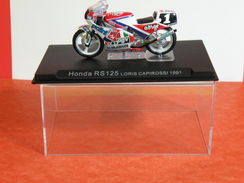 MOTO 1/24 > Honda RS 125 Loris Capirossi 1991 Sous Vitrine - Motorcycles