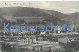 Clervaux - Clerf (Klierf) - La Gare / Der Bahnhof (Bellwald) - Clervaux