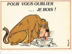 """ALEXANDRE  : """" Pour Vous Oublier ...je Bois! """"  Série 940/1 - Alexandre"""