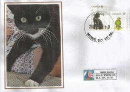 "CANADA: ""J'adopte Un Pet"", Lettre De Masset (Queen Charlotte Islands). B.C - Hauskatzen"