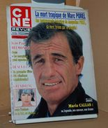Ciné Revue N 35 1/9/1983 Marc Porel, Maria Callas, Gwendoline, Thierry Lhermitte, Henry Hathaway, Joan Fontaine Etc - Cine