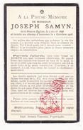 DP Gesneuveld WO I Oorlog 14-18 Joseph Samyn / Vermeersch ° Westnieuwkerke Nieuwkerke Neuve-Eglise † De Panne - Images Religieuses