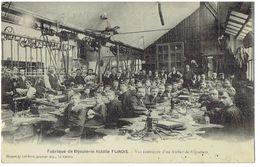 Fabrique De Bijouterie Achille Flinois - WALINCOURT ( 59 Nord ) - Vue Intérieure D' Un Atelier De Bijoutiers - Other Municipalities