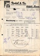 Rockel & Co Haar- U. VelourhutFabrik Alsfeld-Hessen (1933) - Allemagne