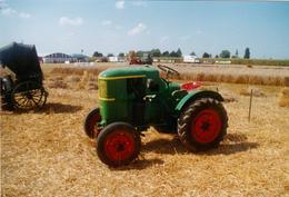 """Photographie Originale Couleur 10 X 15 Agriculture Vieux Tracteur """"DEUTZ"""" Original Photography - Non Classés"""
