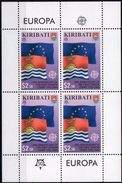 Kiribati 2006 - 50e Ann émissions Europa - BF Neufs // Mnh // CV 22 Euros - Kiribati (1979-...)