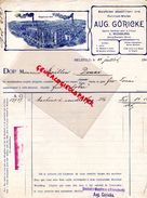 ALLEMAGNE- BIELEFELD- RARE FACTURE AUG. GORICKE-MACHINE A COUDRE-L. WENDLING BOURG BEAUDOIN-27- GAILLION DOUAI-1902 - 1900 – 1949