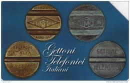 *ITALIA: GETTONI TELEFONICI - T.I.M.O.* - Spezzatura Usata - Public Themes