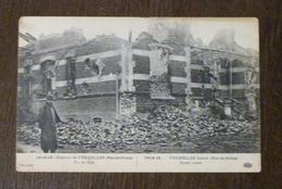 62, CHATEAU DE VERMELLES, VU DE FACE, 1914-15 - France