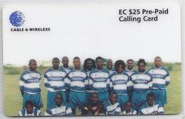 ANTIGUA & BARBUDA - CABLE & WIRELESS EMPIRE FOOTBALL TEAM - ANU 13 - Antigua And Barbuda