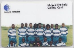ANTIGUA & BARBUDA - CABLE & WIRELESS EMPIRE FOOTBALL TEAM - ANU 14 - Antigua And Barbuda