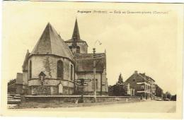 Pepingen. Kerk En Gemeenteplaats. - Pepingen